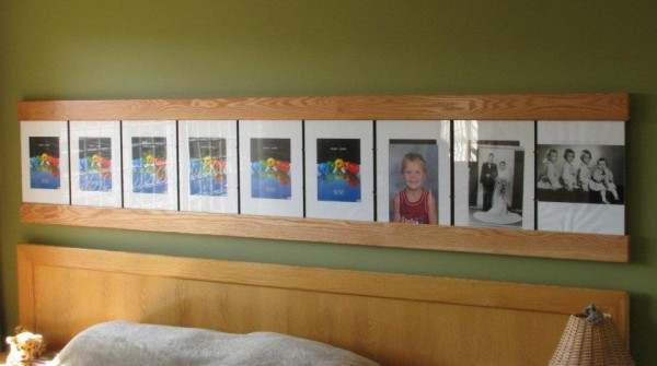 Custom Photo frame display
