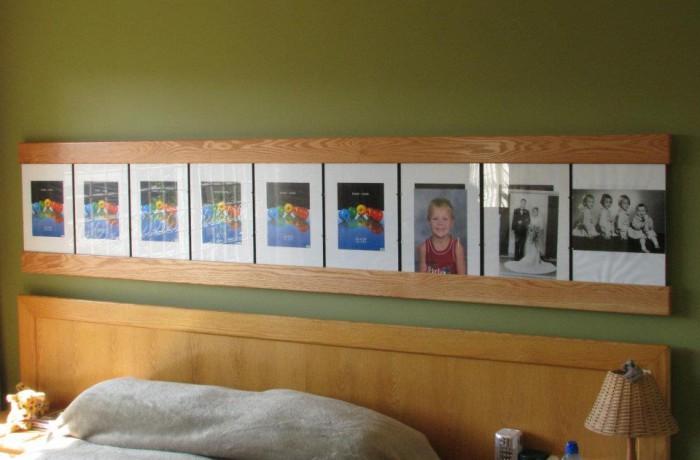 Custom Photo frame display